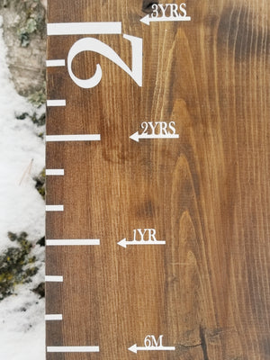 Simple Height Marking Arrows - Little Prairie Craft Co.