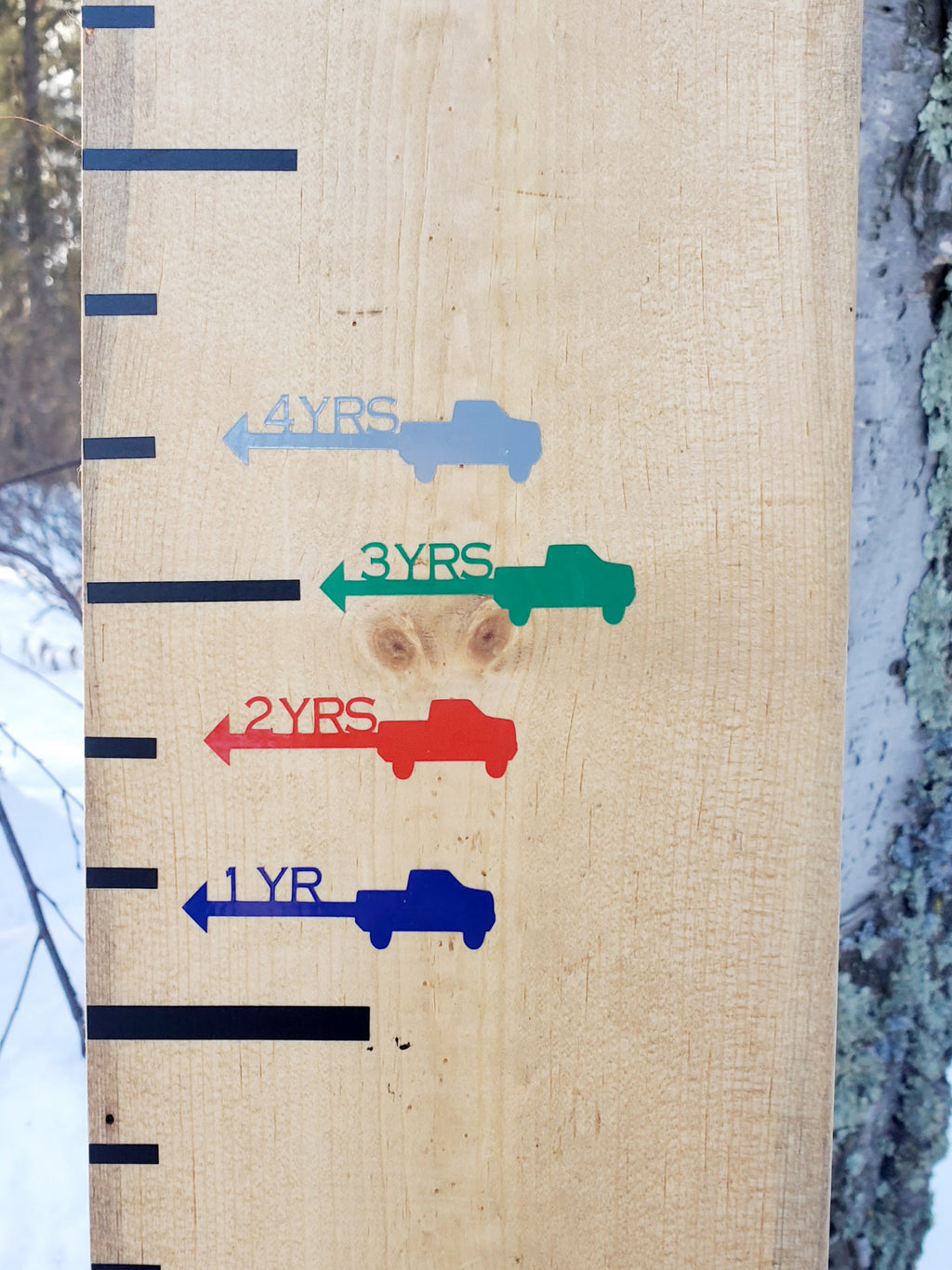 Truck Height Marking Arrows - Little Prairie Craft Co.
