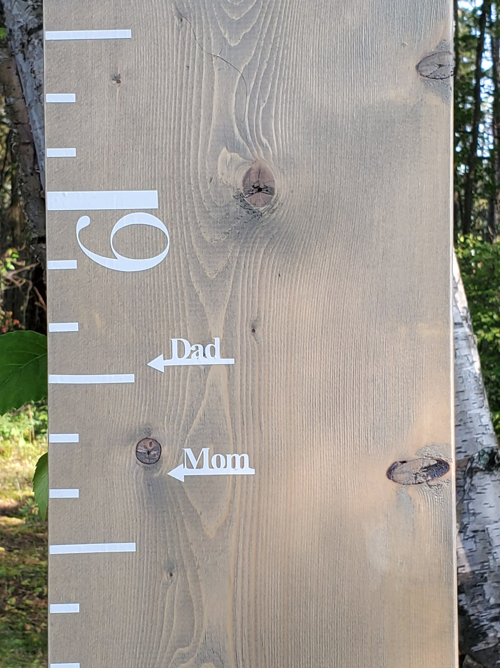 Simple Parent Height Markers - Little Prairie Craft Co.