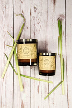 Load image into Gallery viewer, Lemongrass Essential Oil candle