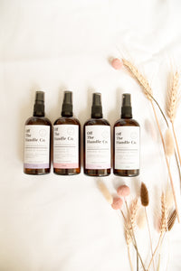 Aromatherapy room and linen spray