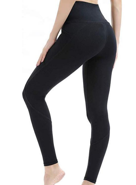 Ins Hot High Waist Yoga Pants with Pockets