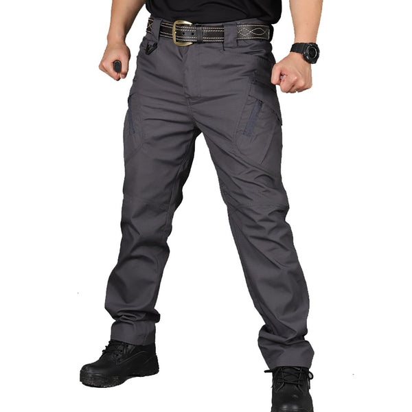 Men's IX9 Military Tactical Multiple Pockets Trousers Outdoors Hikling Cargo Pants