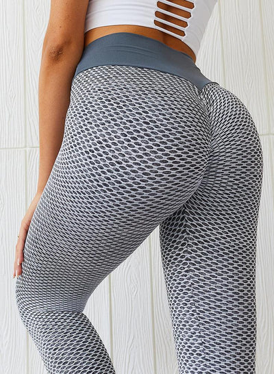 Fitness Pants Seamless Hip-up High Waist Yoga Leggings