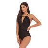 Sexy One Piece Swimsuit Plus Size Bathing Suit Backless Swimwear