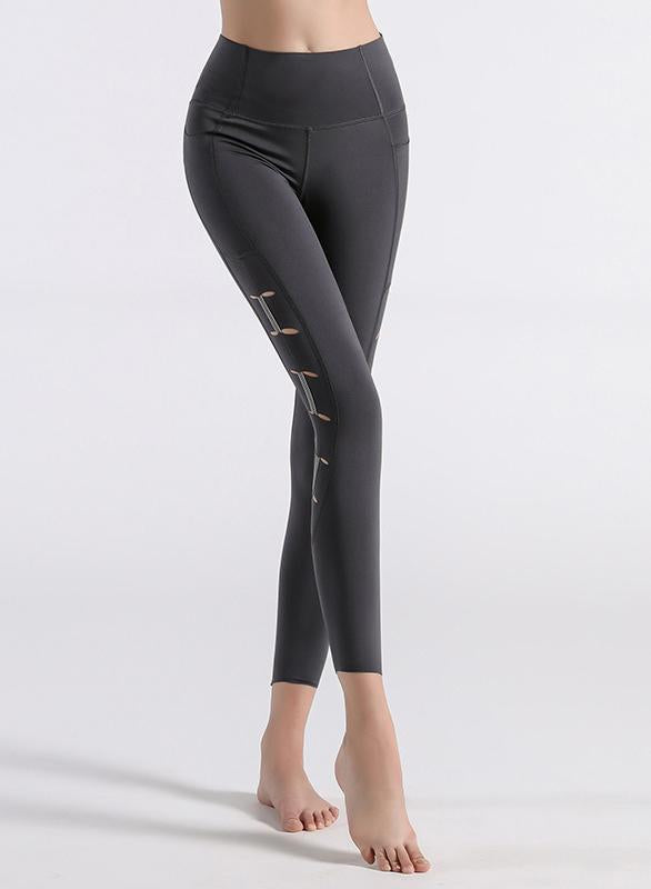 Reflective Sports Pants Running Yoga Leggings