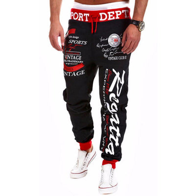 Men Running Dance Basketball Sweatpants Sports Gym Training Jogger Pants