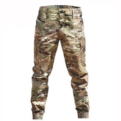 Men's Casual Camouflage Jogger Tactical Cargo Pants