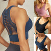 Women Sexy Mesh Brathable Underwear Fitness Running Yoga Sports Bra