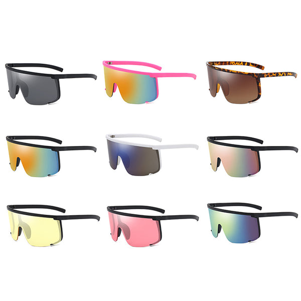 Sport Style Retro Mirrored Sunglasses