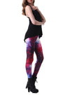Women 3D Star Sky Print Sports Fitness Pencil Leggings