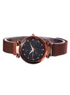 Tik Tok Web Celeb Stylish Trend Starry Sky Magnet Simple Wristwatch