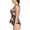 Womens Two Piece Bathing Suits Sling Skirt High Waist Swimming Tankini Swimwear