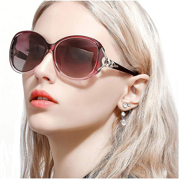Retro Oversized Fox Head Sunglasses for Women