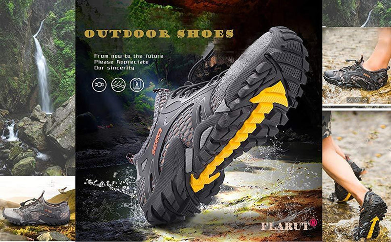 Men's Breathable Mesh Casual Light Outdoor Hiking Shoes(Free Shipping)