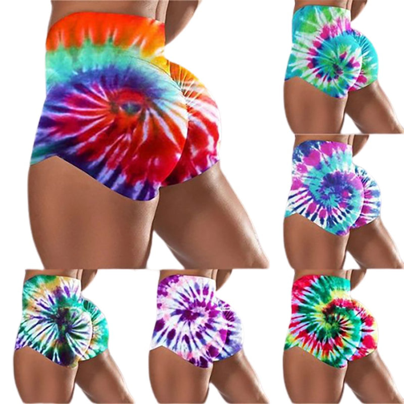 Hot summer sales of new women's fashion yoga exercise running gym shorts