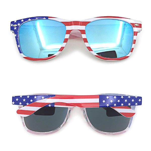 Classic American Patriot USA Flag Sunglasses