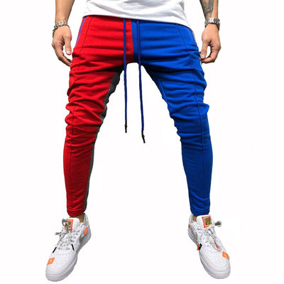 Men's Casual Cotton Trousers Multi-pocket Sweatpants Jogging Pants