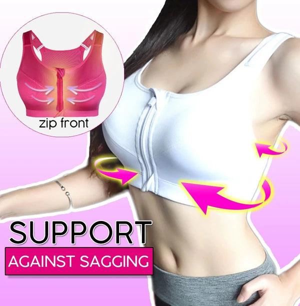 Women Fashion Wireless Breathable Sports Bra