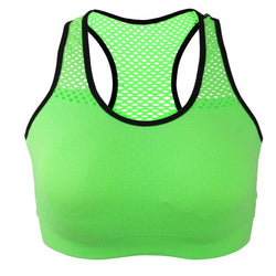 Running Yoga Bra Breathable Sports Wear for Women Gym