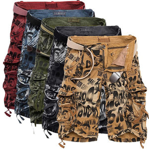 ADISING™ Men's Military Cargo Army Camouflage Shorts