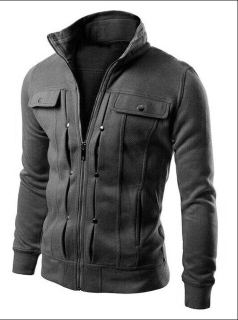 Men's Warm Hoodie Hooded Sweatshirt Coat Jacket Outwear Jumper Winter