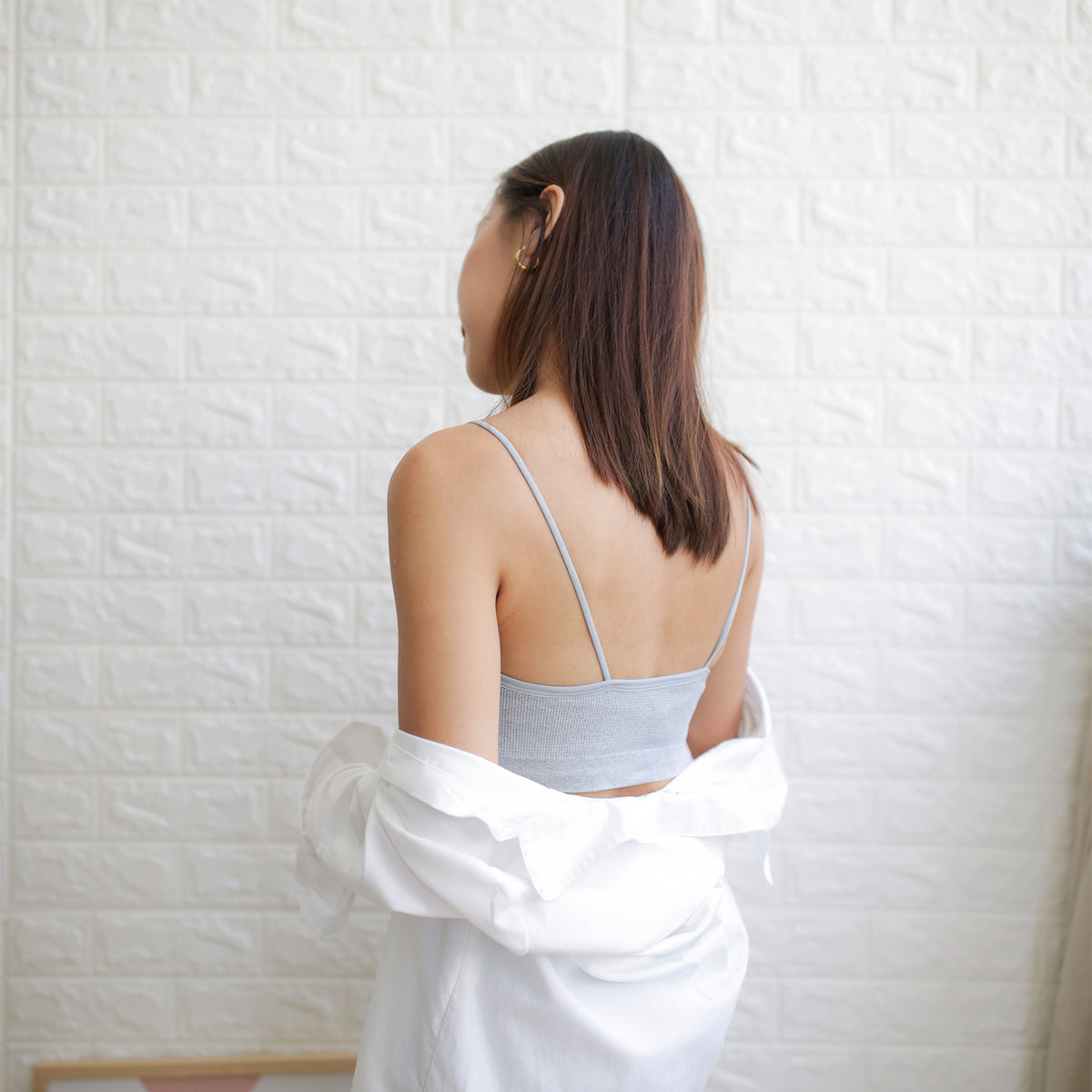 Second Skin Bralet (Grey)