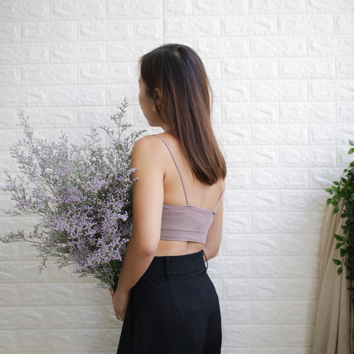 Second Skin Bralet (Taupe)