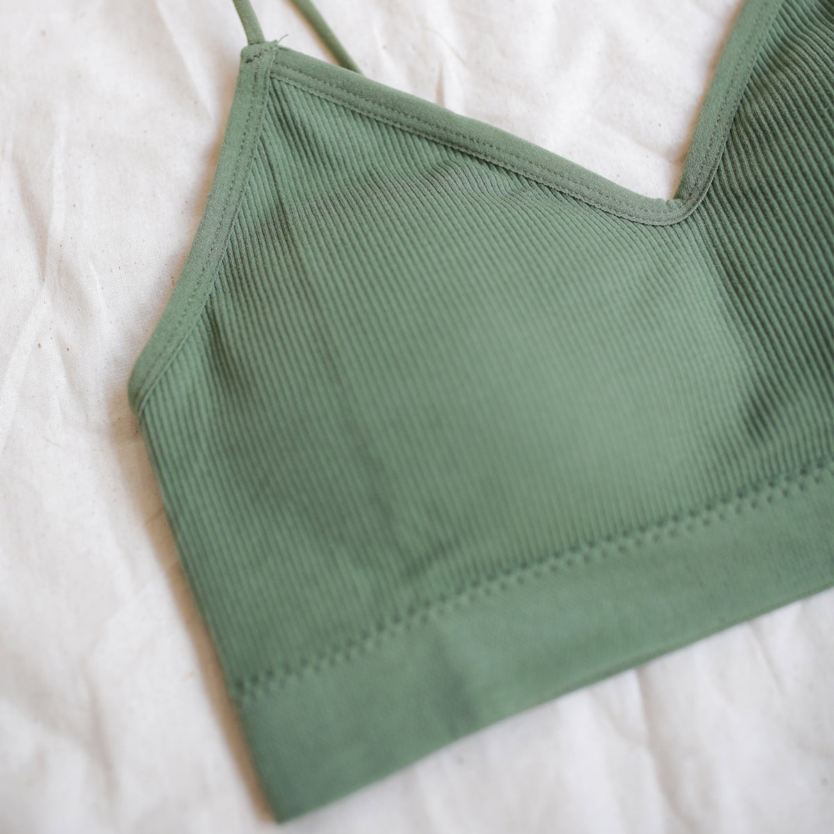 Second Skin Bralet (Olive)