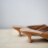 Marc Colourblock Heels (Camel)