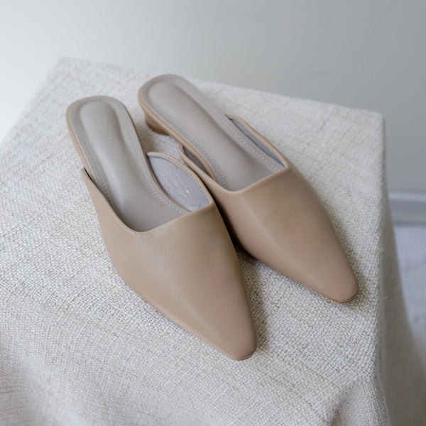 Hyde Mules (Nude)