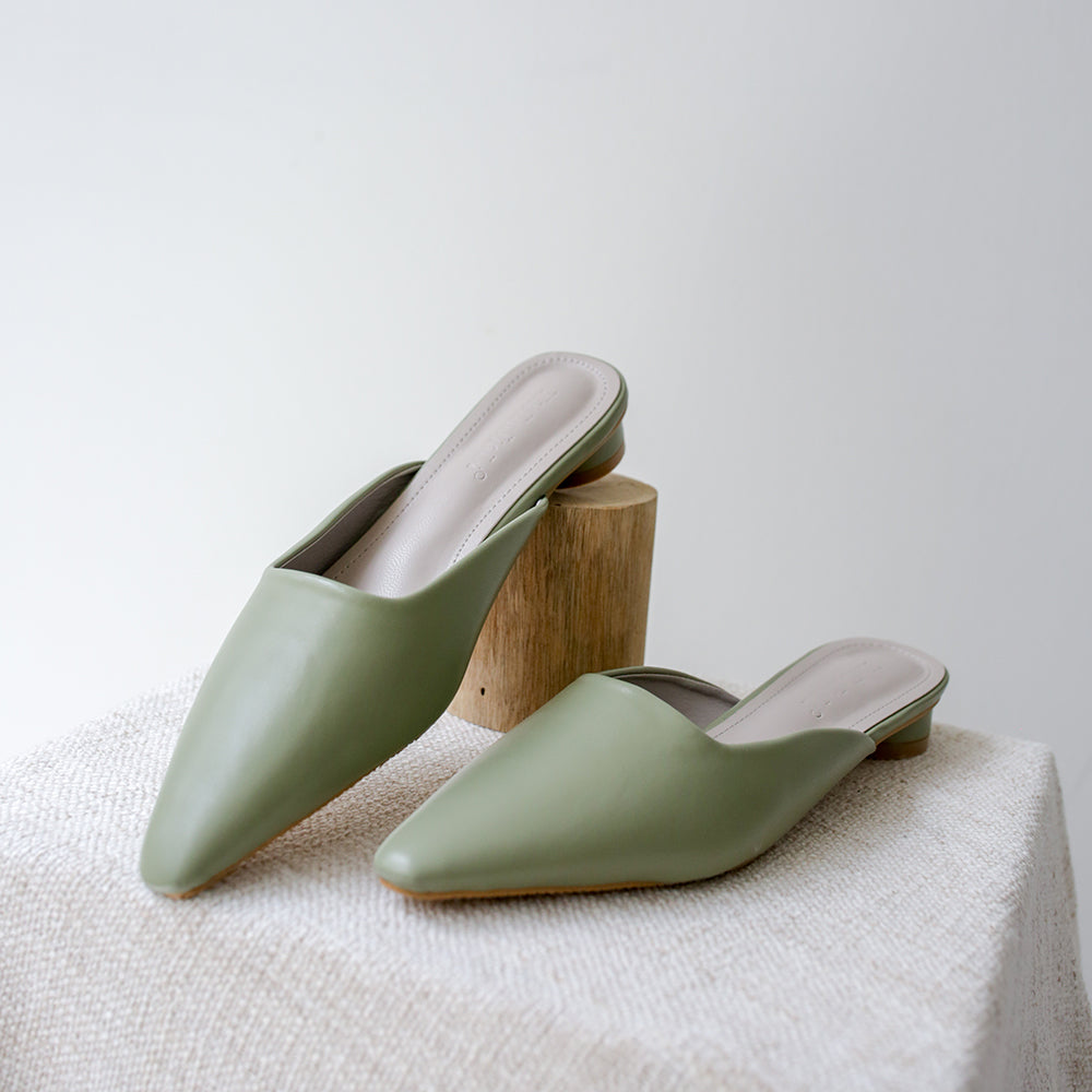 Hyde Mules (Light Sage)