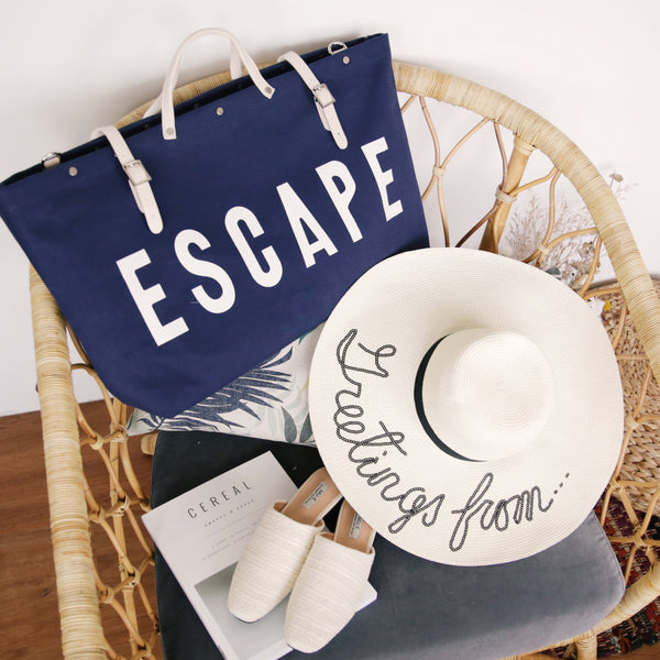 Escape Carry-all Tote Bag Navy