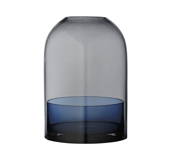 AYTM Tota Candle Holder Blu Navy