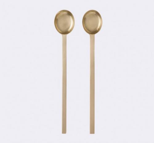 Ferm Living Brass Spoons - Set of 2