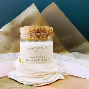 Mintstone Soy Wax Candle