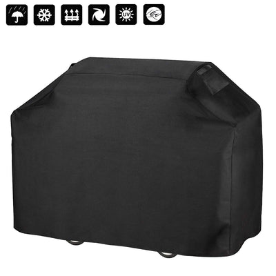 Anglink BBQ Grill Cover, 58 inches Heavy Duty Waterproof Barbecue Cover - AngLinks