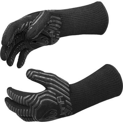 Anglink BBQ Grill Gloves, 1472°F Extreme Heat Resistant Grilling Gloves for Cooking, Baking and for Smoker