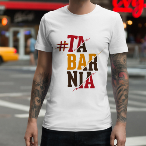 "Camiseta Tarbania Chico ""Barcelona is not Catalonia"""