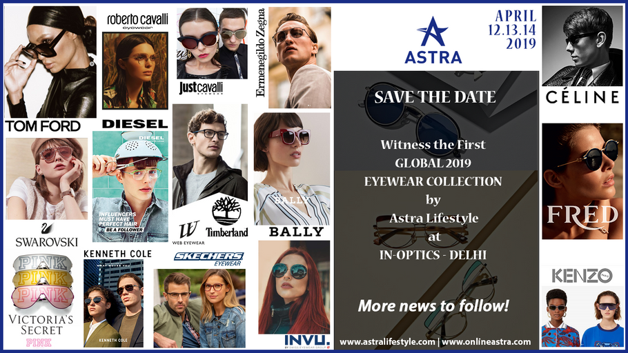 Witness The first Global 2019 Eyewear Collection at IN-OPTICS