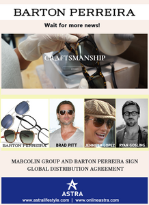 Marcolin Group and Barton Perreira sign exclusive multi-year global distribution agreement