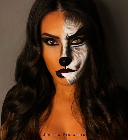 Halloween make up | Cat | Mykady | Lebanon