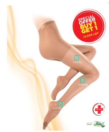 Yves Morel Tights Medica Relax 20 Den Buy One Get One FREE