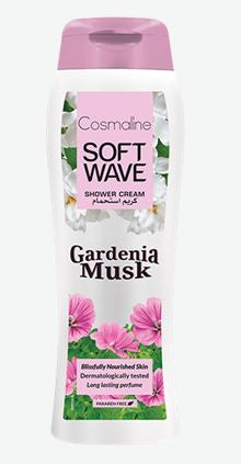 Soft Wave Gardenia Musk Shower Gel 400 ml
