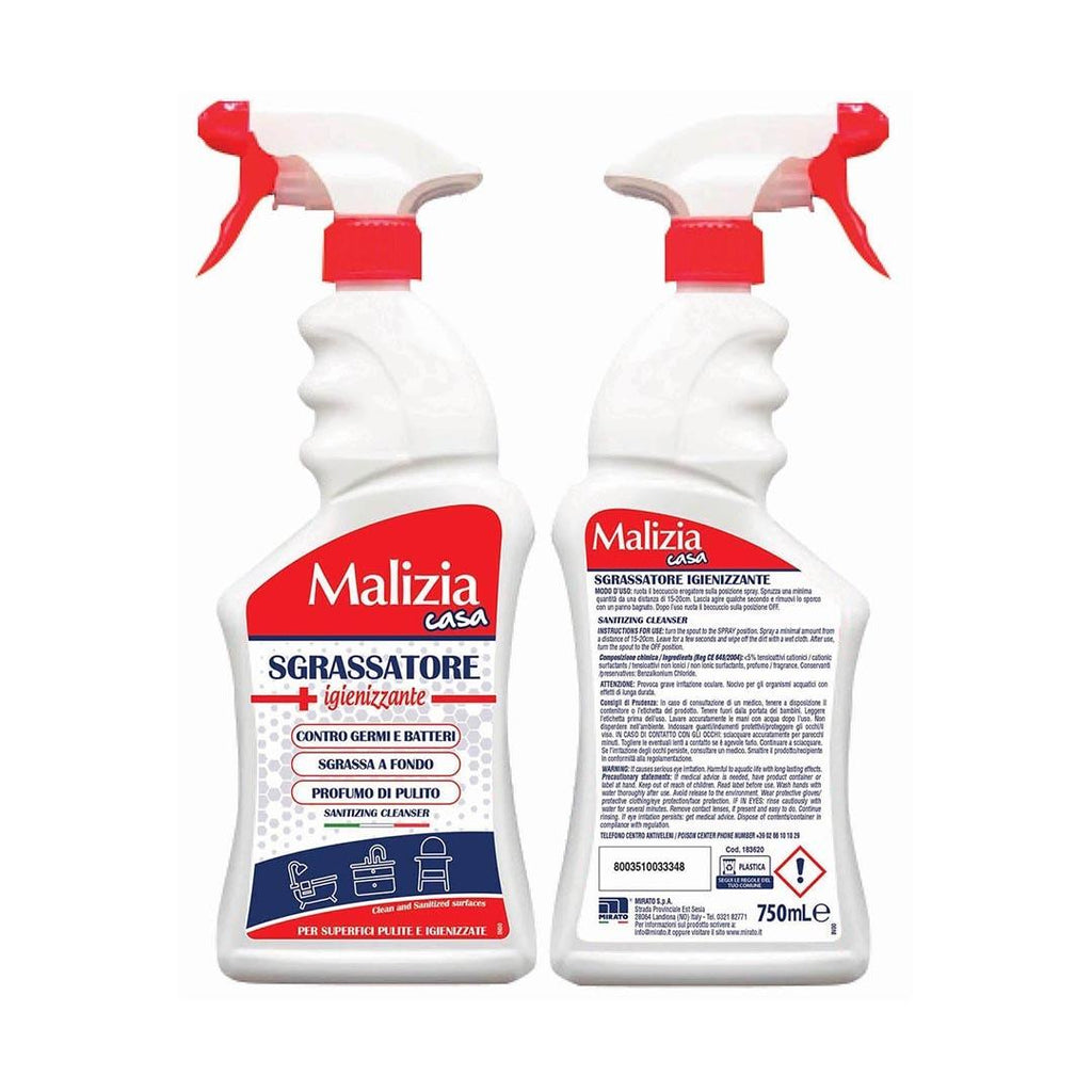 Malizia Sanitizing Cleanser 750 ml