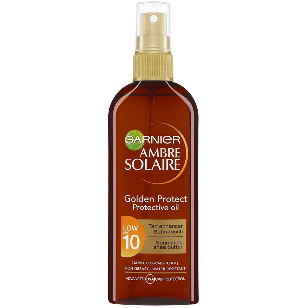 Garnier Ambre Solaire Golden Protect Sun Oil SPF10 150ml