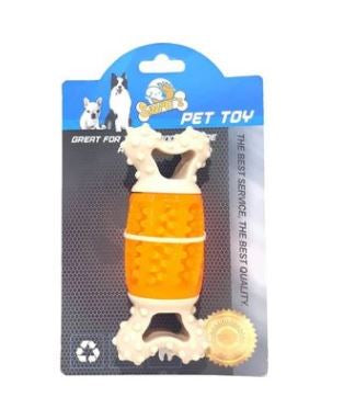 Sinipet's Bone Rubber Toy For Cats And Dogs