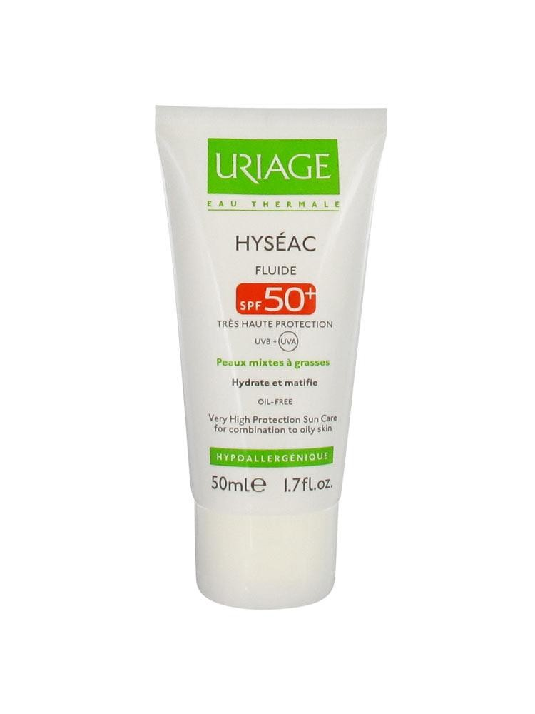 URIAGE HYSEAC FLUIDE SPF 50+  50ML