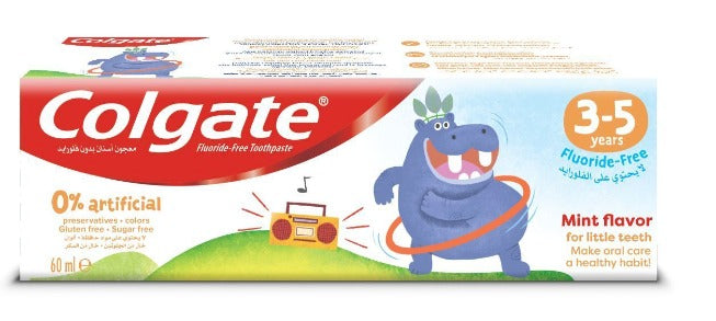 Colgate Kids Toothpaste Fluoride Free 3-5 years 60 ml
