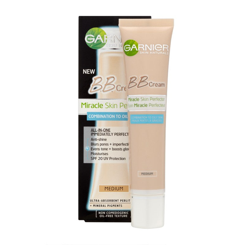 Garnier BB Cream Miracle Skin Perfector 5-In-1 Daily Moisturizer-Oil Free 40 Ml